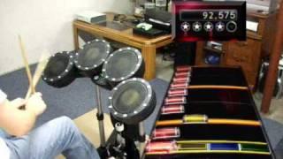 Mr. Brightside - 100% FC expert Rock Band 2 (drums)