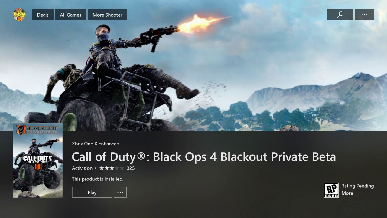How To Download And Play The Bo4 Blackout Beta On Xbox One Beta Is Over Youtube