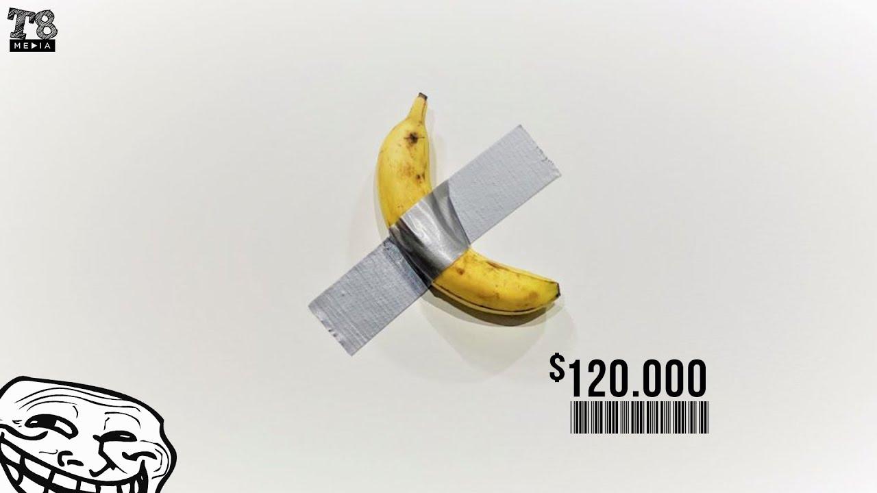 Cum sa Vinzi o Banana cu doar $120 000