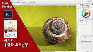 [포토샵 기초]05_이미지의 용량과 크기 변경_photoshop cc 2019