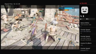Let's play For Honor! He's too dangerous to be left alive! (PS4 Live Stream) 2/11/2018