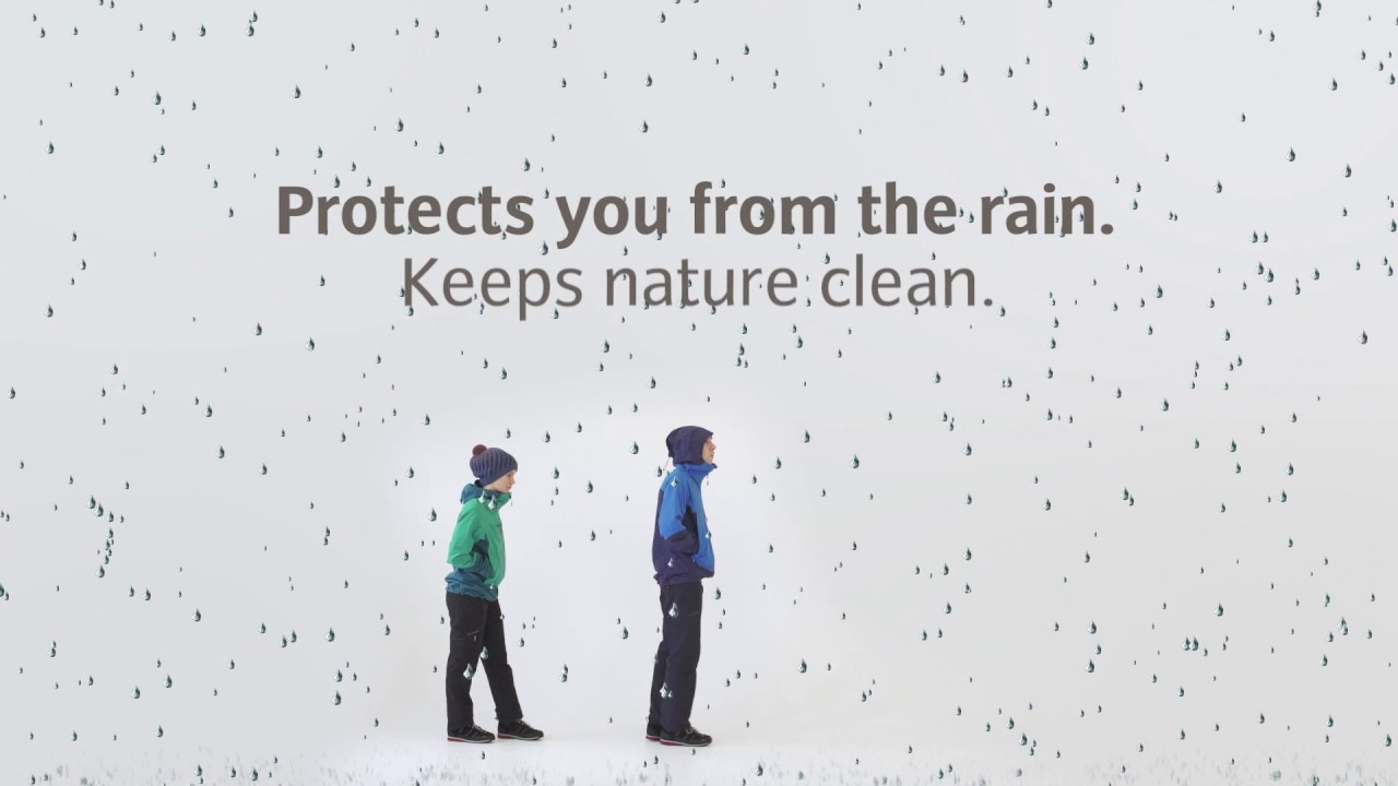 Eco-friendly water repellent: beading effect without PFC | VAUDE