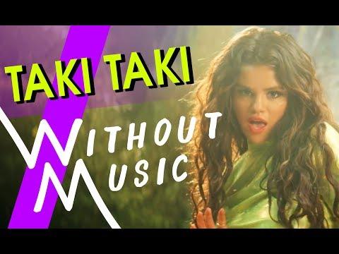 DJ SNAKE - Taki Taki ft. SELENA GOMEZ, OZUNA, CARDI B (#WITHOUTMUSIC Parody)