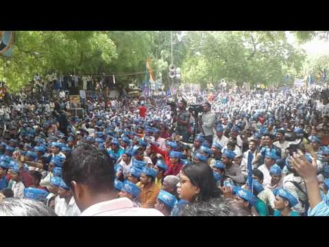 Protest of Bhim Army on Jantar Mantar