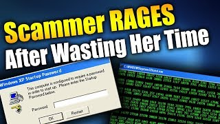 Scammer Goes INSANE After I Waste Her Time! | Tech Support Scammers EXPOSED!
