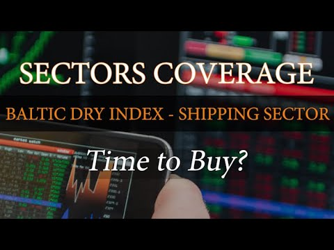 Trading Using Elliott Wave - Technical Analysis on Baltic Dry Index - Shipping Sector