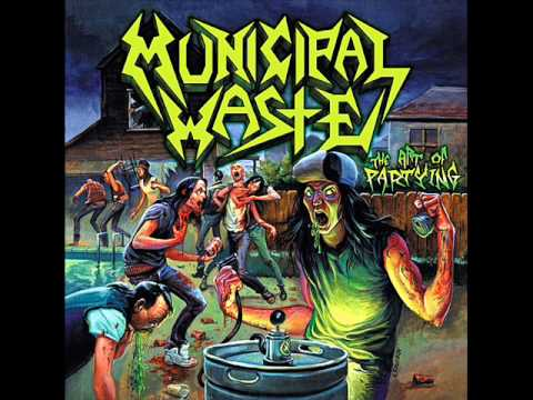"Municipal Waste ""The Art of Partying"" [FULL ALBUM]"