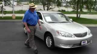 Used 2005 Toyota Camry LE for sale at Honda Cars of Bellevue...an Omaha Honda Dealer!