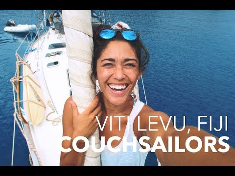 Searching for Surf and Sleeping Giants in Fiji || COUCHSAILORS Sailing Journal #27