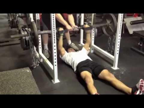 nj college wrestler workout at the underground strength