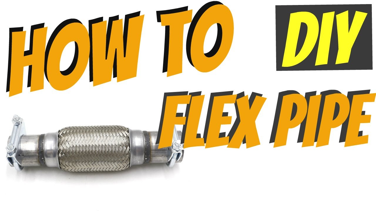 how to fix flex pipe yourself diy easy go 54