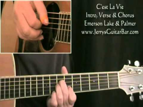 How To Play ELP C'est La Vie (preview only)
