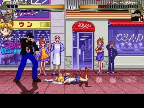 Mugen: Sailor Moon vs. Nostalgia Critic