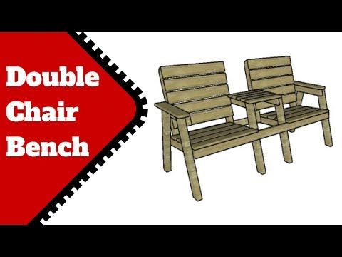 Modern Double Chair Bench Plans
