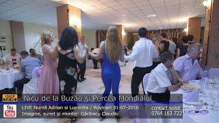 Nicu de la Buzau si Percea Mondialul Colaj HORA LIVE Nunta Adrian si Luminita 31-07-201 ...