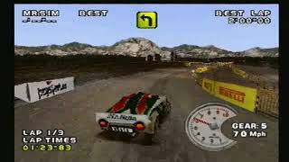 Need For Speed V Rally 2 PS1: Argentina Stage 3