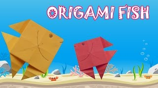 Origami for Kids - Easy Origami Fish
