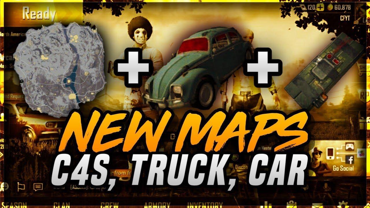 Pubg Mobile 0 11 Update Beta New Snow Map C4s Bombs Truck Vw