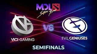 Vici Gaming vs Evil Geniuses Game 1 - MDL Macau 2019: Semifinals