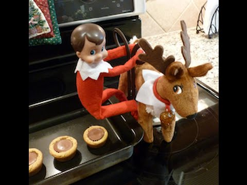 My elf on the shelf caught pooping reese 39 s christmas for Elf on the shelf pooping on cookies
