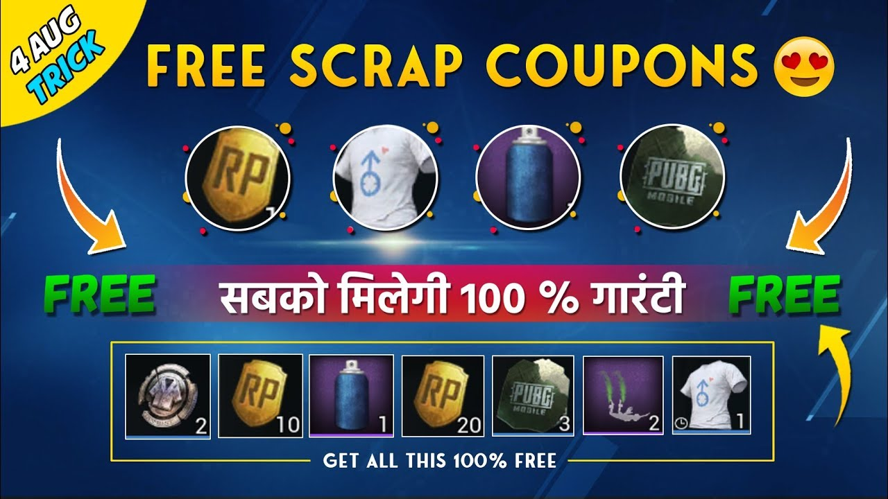 New VPN Trick to Get Classic Scrap Coupons, RP Cards, Paint