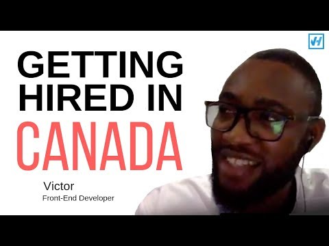 How Victor Got Hired In Canada From Nigeria