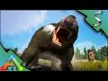 PURLOVIA TAMING! BREEDING & IMPRINTING! BABY BADGER! BURROW AMBUSH! - Ark: Survival Evolved [S3E49]