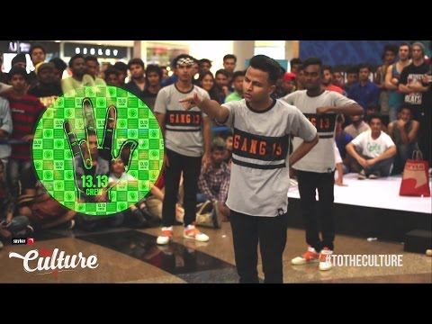 13.13 Crew at The Culture 2014 | Best Hip-Hop Crew of India