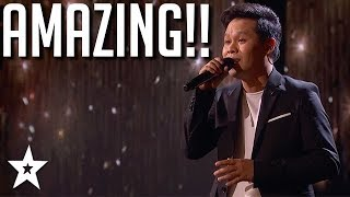 Judges CAN'T BELIEVE His Voice!! America's Got Talent: The Champions 2020   Got Talent Global