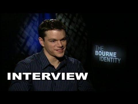 The Bourne Identity: Matt Damon Interview
