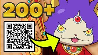 200 QR Codes For Yo-kai Watch Busters 2! FREE S-Ranks, Fusion Items, Coins, & MORE!