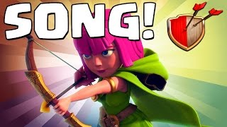 "Clash of Clans ""ARCHER SONG!"" Clash of Clans Track 2/10 New Album!"