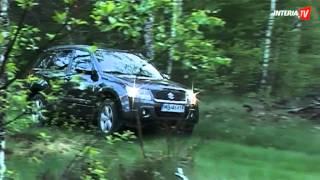 Test Suzuki Grand Vitara(Zobacz więcej na http://www.interia.tv | Suzuki grand vitara to model już dobrze znany na polskim rynku. Jak spisuje się to auto z silnikiem benzynowym 2.4?, 2012-06-21T13:14:00.000Z)