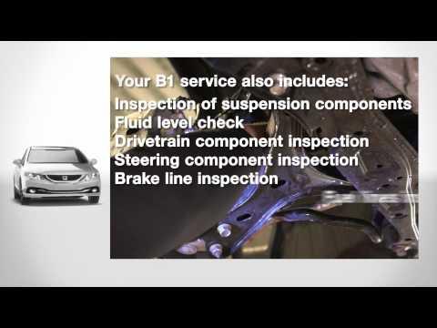 Parts & Service - Maintenance Minder B Service