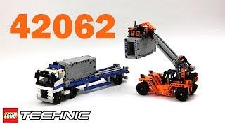 лего Техник 42062 Контейнерный Транспорт  Обзор / Lego Technic 42062 Container Transport - Review