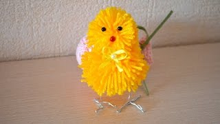 Make a Cute Pompom Chick - DIY Crafts - Guidecentral