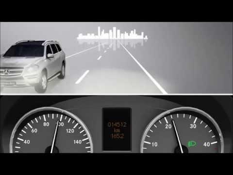 Система управления дальним светом Mercedes-Benz Sprinter