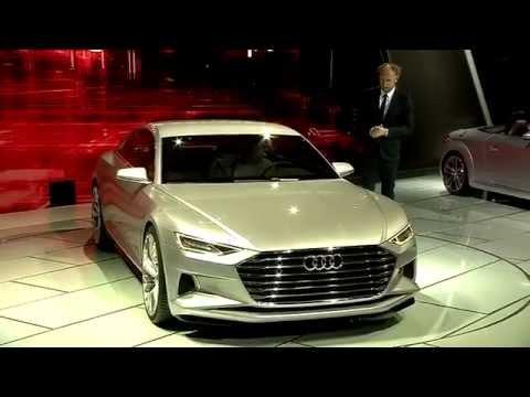 The Audi prologue concept Detailed Review in LA Auto Show 2014 | AutoMotoTV