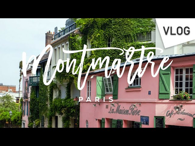 VLOG Balade photographique - Montmartre, Paris