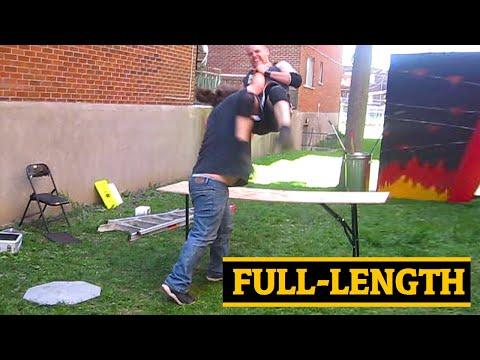Agent Exile VS Swede Savard {FULL LENGTH} CHW Backyard Wrestling