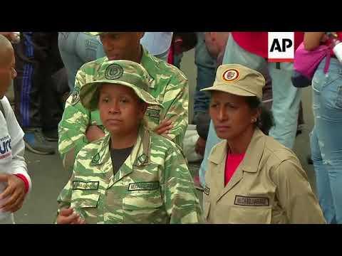 Maduro says Venezuela forced to take charge of Banesco