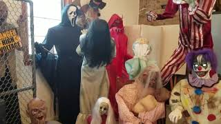 Alot Of My Halloween Props On (PARTY) #4