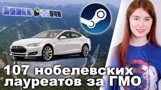 Авария автомобиля-беспилотника Tesla