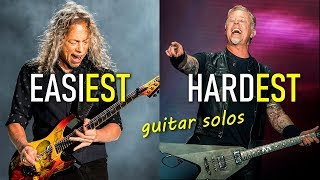 20 levels of Metallica guitar SOLOS