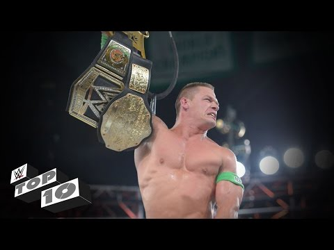 Thumbnail: John Cena's Greatest World Title Triumphs: WWE Top 10