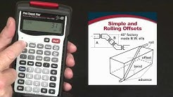 How to Calculate Simple and Rolling Offsets | Pipe Trades Pro