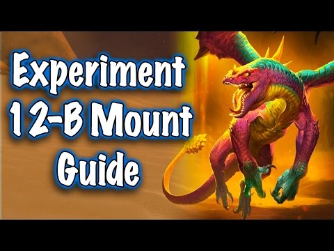 Jessiehealz - Experiment 12-B Mount Guide (World of Warcraft)