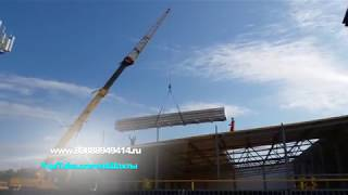 Что строят напротив автовокзала? 4K Ultra HD Video