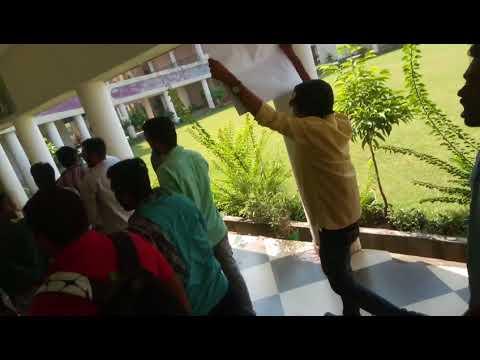 Dharna pradarsion in rungta college raipur | CSVTU  C.G