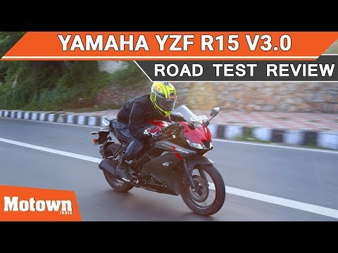 Yamaha YZF R15 v3.0 | Road Test Review | Motown India